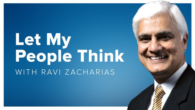 Ravi Zacharias Let My People Think