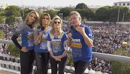 Video Image Thumbnail:Matt and Laurie Crouch host from The Jesus March in São Paulo, Brazil