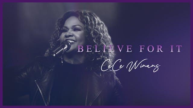 CeCe Winans | Believe For It