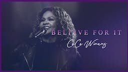 Video Image Thumbnail:CeCe Winans - Believe For It