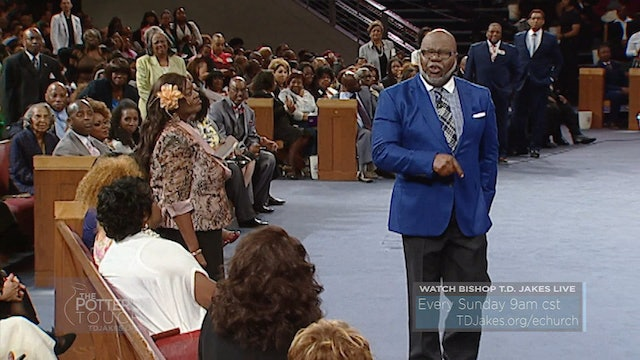 The Potter's Touch with T  D  Jakes - TBN