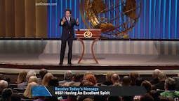 Video Image Thumbnail:Having An Excellent Spirit