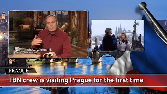 Matt & Laurie Crouch host from Prague...