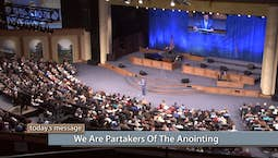 Video Image Thumbnail:We Are Partakers of the Anointing