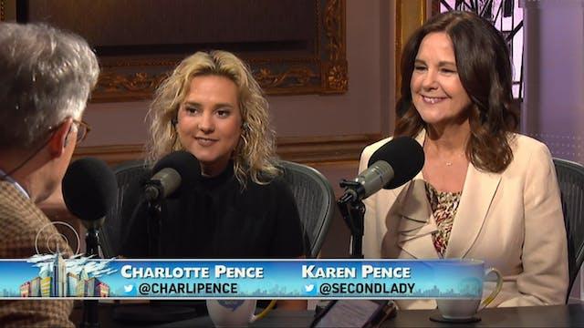 Guests Charlotte & Karen Pence, Phil ...