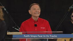Faith Stops Fear In Its Tracks
