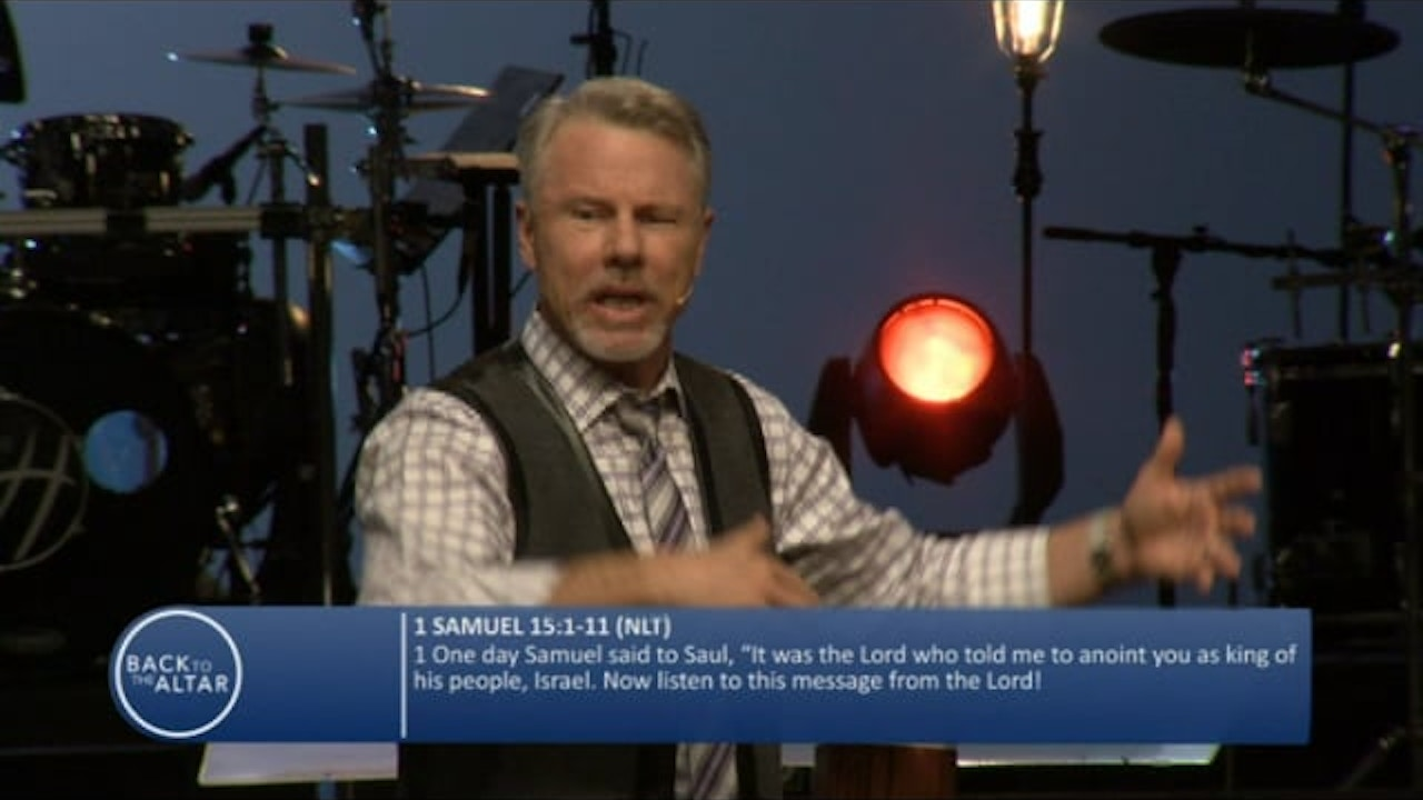 "Watch Back to the Altar with Pastor Glen Berteau, ""Take No Hostages"" Part 1"