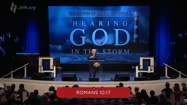 Hearing God In The Storm: The Storm of Self Confidence