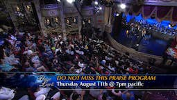 Video Image Thumbnail:Praise the Lord Promo August 11, 2016