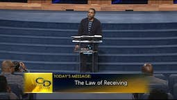 Video Image Thumbnail:The Law Of Receiving