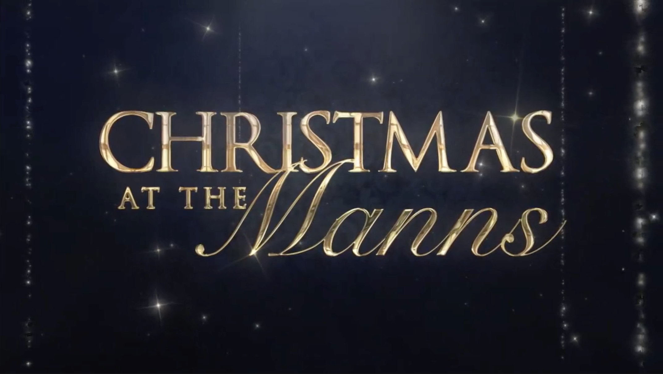Christmas at the Manns
