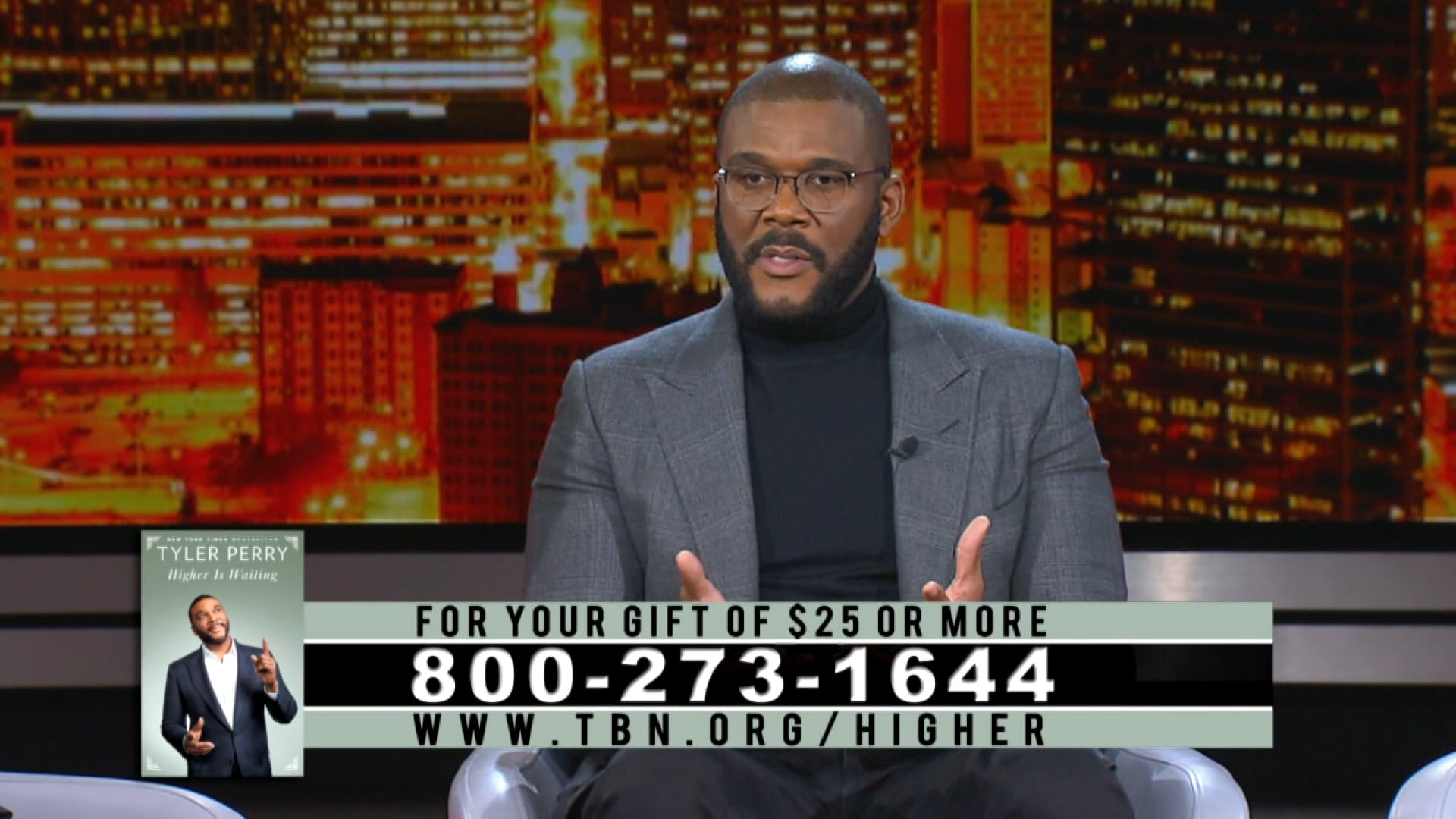 Watch Tyler Perry shares how faith overcomes adversity and produces success.