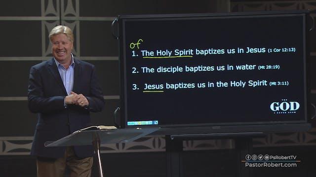 Does He Baptize?