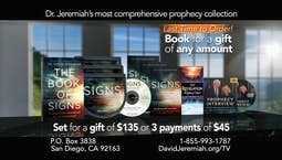 Video Image Thumbnail:A Tour of Prophecy Interview with Dr. David Jeremiah