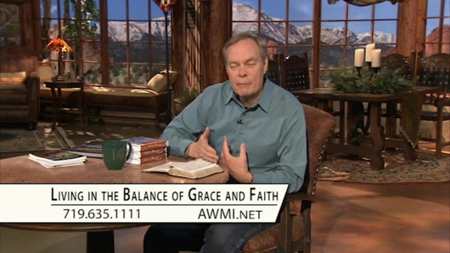 Living in the Balance of Grace and Faith | Monday
