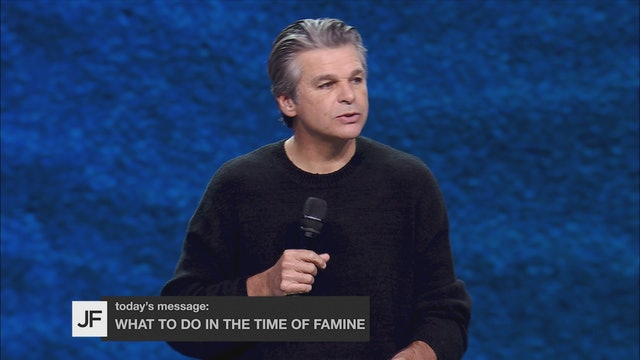 What To Do In The Time of Famine