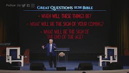 Video Image Thumbnail:What Will Be The Sign Of Your Coming