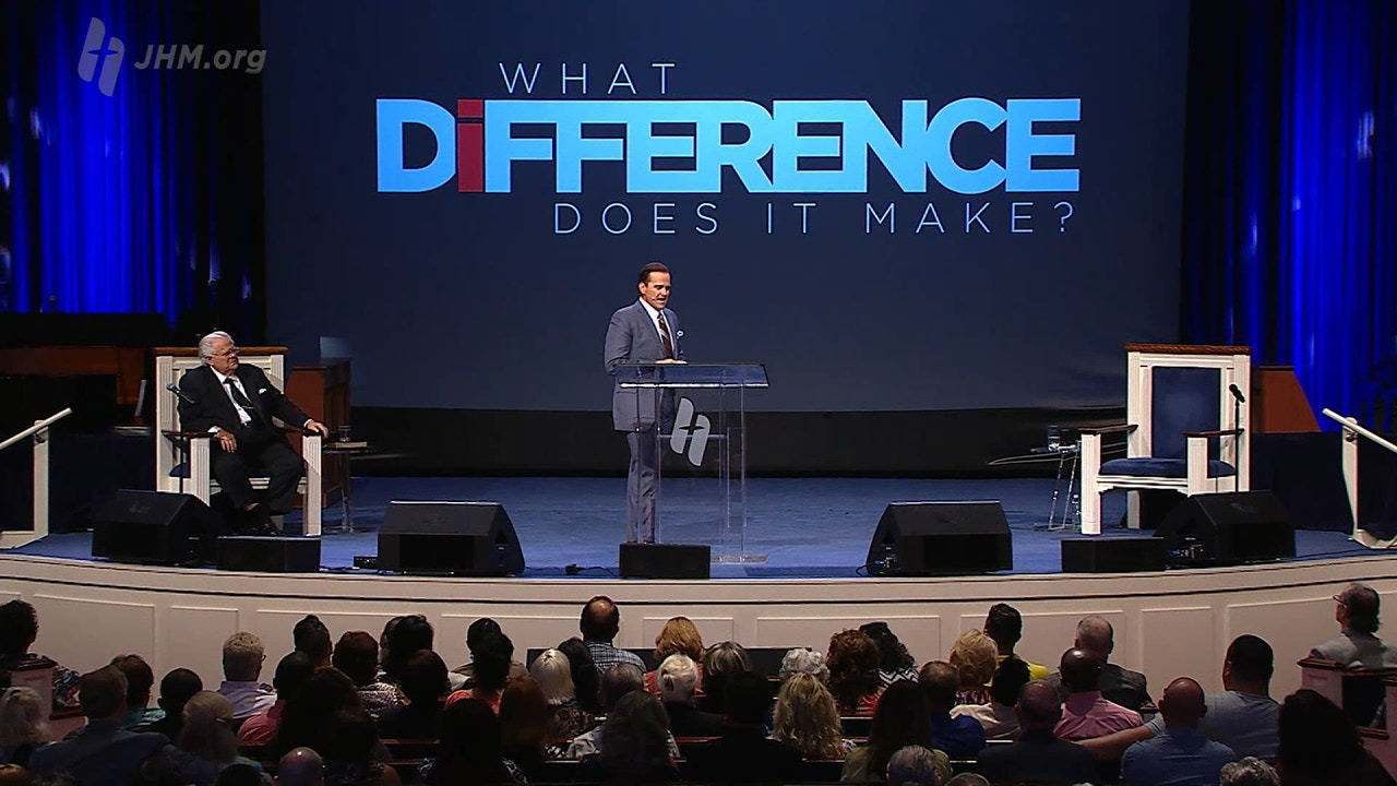 Watch What Difference Does it Make?: You Are a Difference Maker
