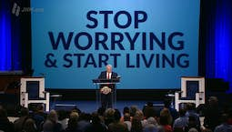 Video Image Thumbnail:Stop Worrying and Start Living and What God Can Do with a Warrior