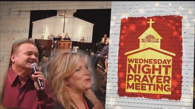 Wednesday Night Prayer Meeting