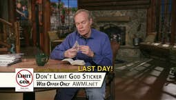 Video Image Thumbnail:Don't Limit God | Friday