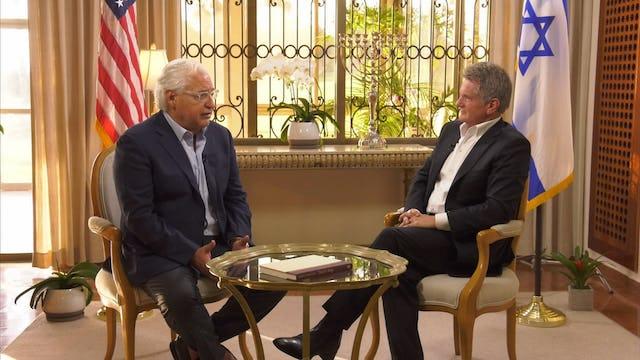Matt Crouch hosts David Friedman from Herzilya, Israel