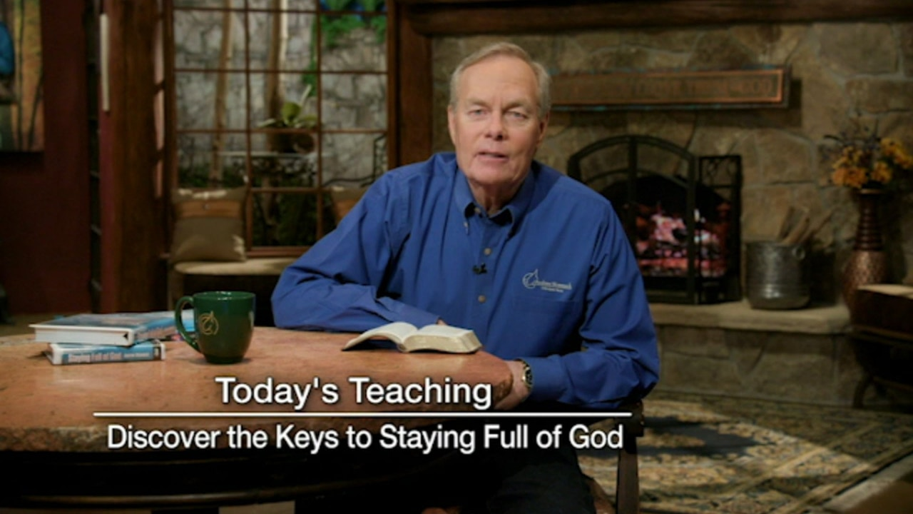 Watch Discover the Keys to Staying Full of God | June 13, 2019