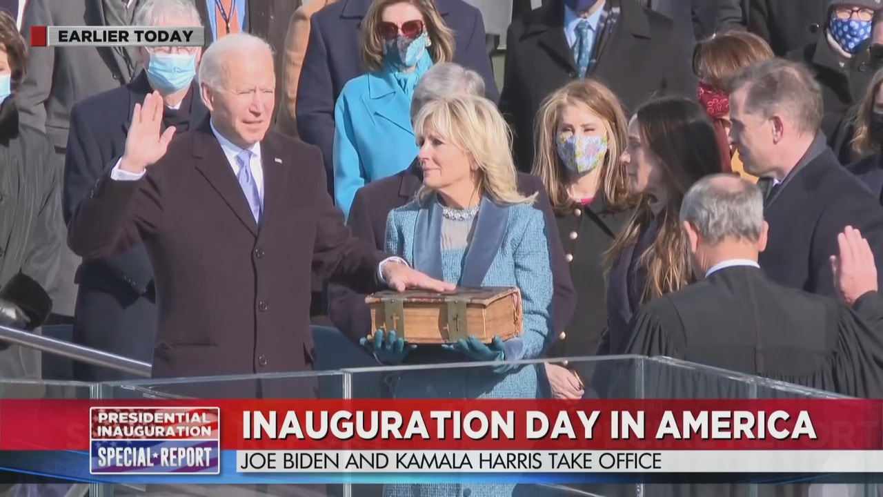 Watch Presidential Inauguration Part 1