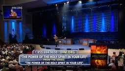 Video Image Thumbnail: The Power of the Holy Spirit in Your Life