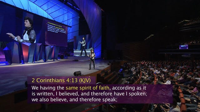 Speak Out by Faith and Win Part 1