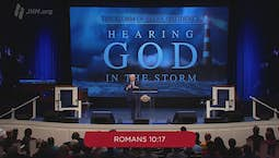 Video Image Thumbnail:Hearing God in the Storm: The Storm of Self-Confidence