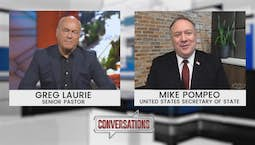 Video Image Thumbnail:Conversations | Mike Pompeo