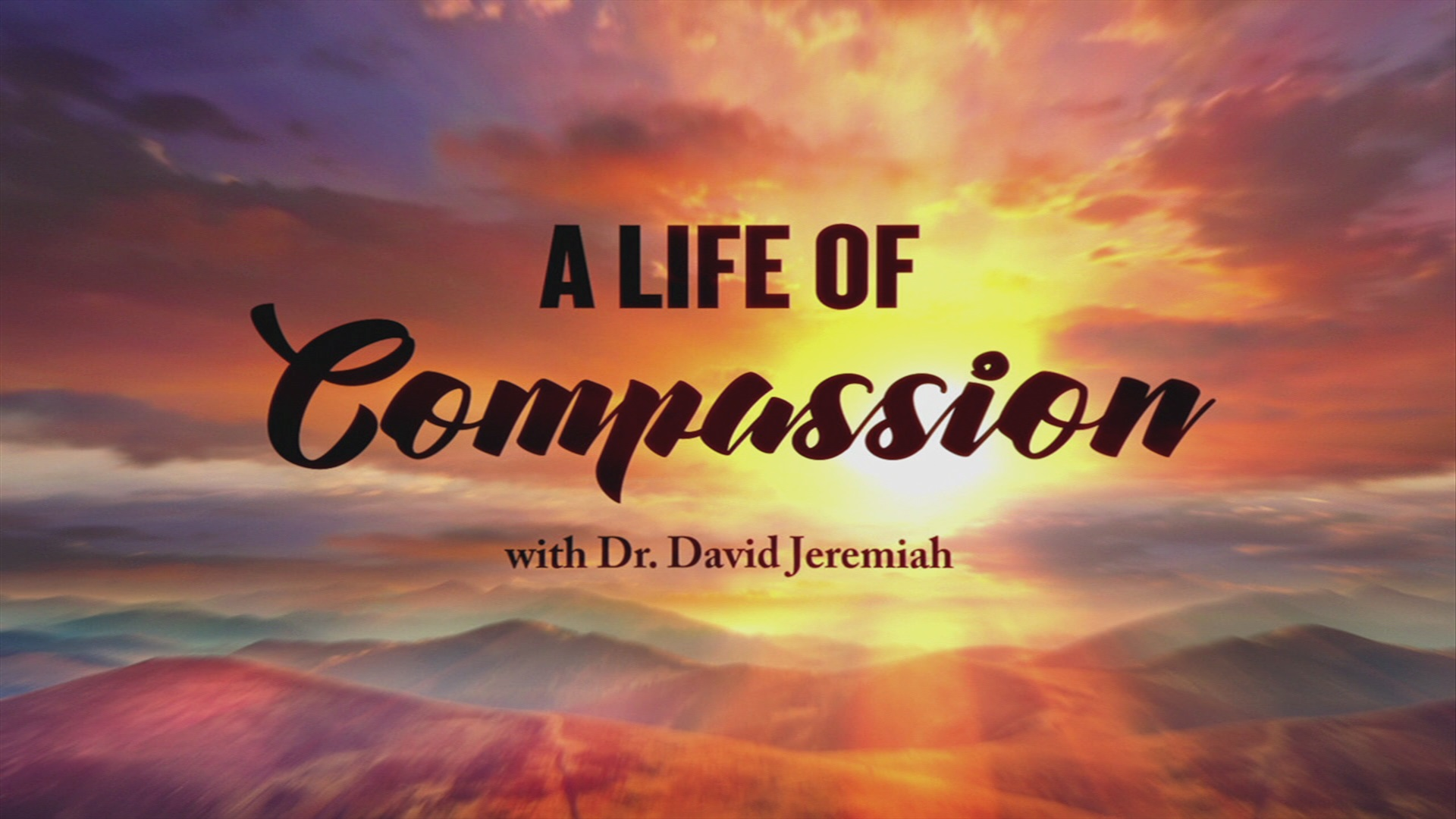 A Life of Compassion