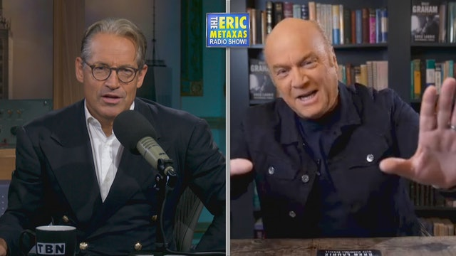 Guests Greg Laurie and Pat Boone