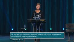 Video Image Thumbnail: Galatians Part 3