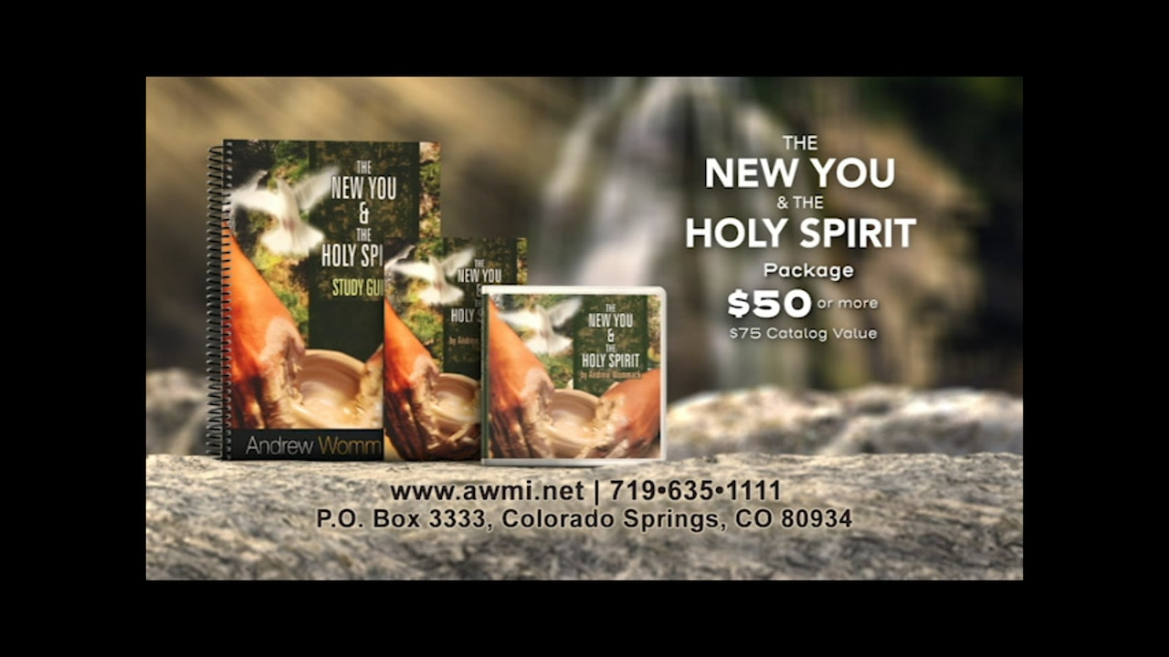 Watch The New You and the Holy Spirit   October 31, 2019