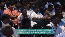 Video Image Thumbnail:Turning Point International: David Jeremiah in India