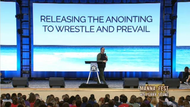 Releasing the Anointing to Wrestle and Prevail