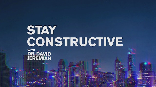 Stay Constructive
