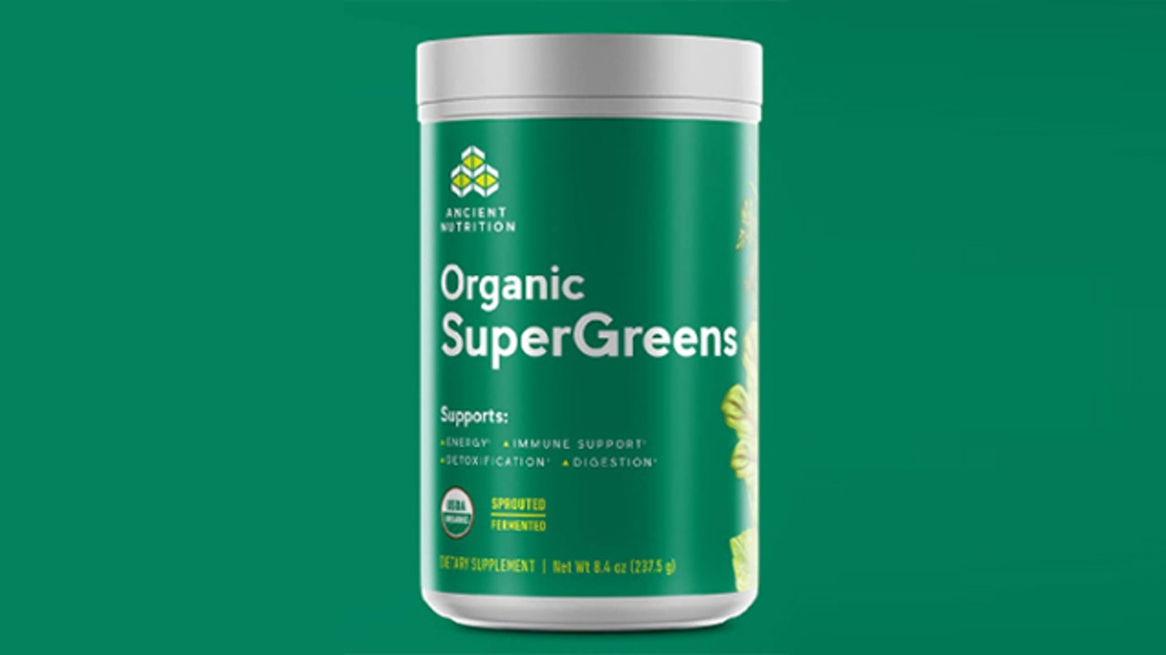 Jordan Rubin: Organic Supergreens