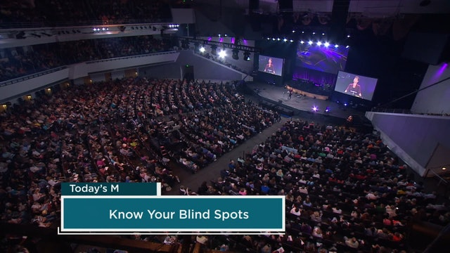 Know Your Blind Spots