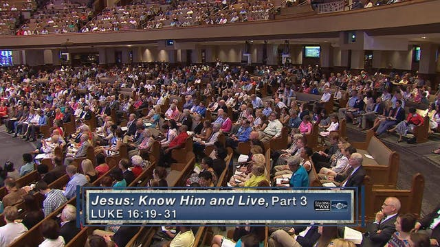 Jesus: Know Him & Live