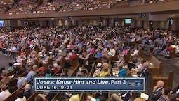 Video Image Thumbnail:Jesus: Know Him & Live