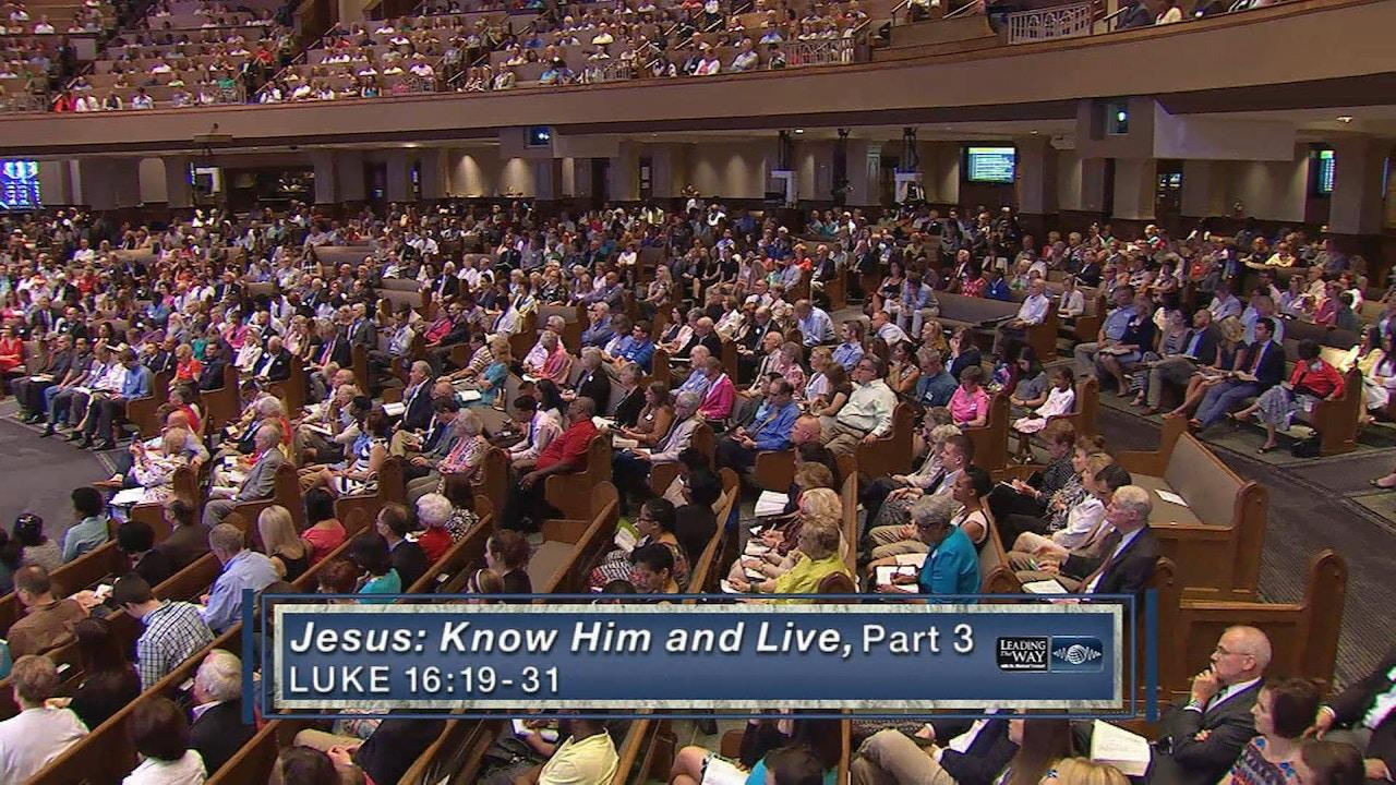 Watch Jesus: Know Him & Live