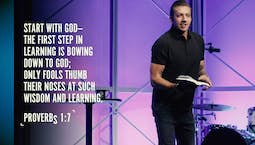 Video Image Thumbnail: Start with God Part 2