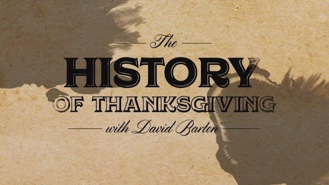 History of Thanksgiving with David Ba...