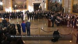 Video Image Thumbnail:Billy Graham Memorial Service Tomorrow