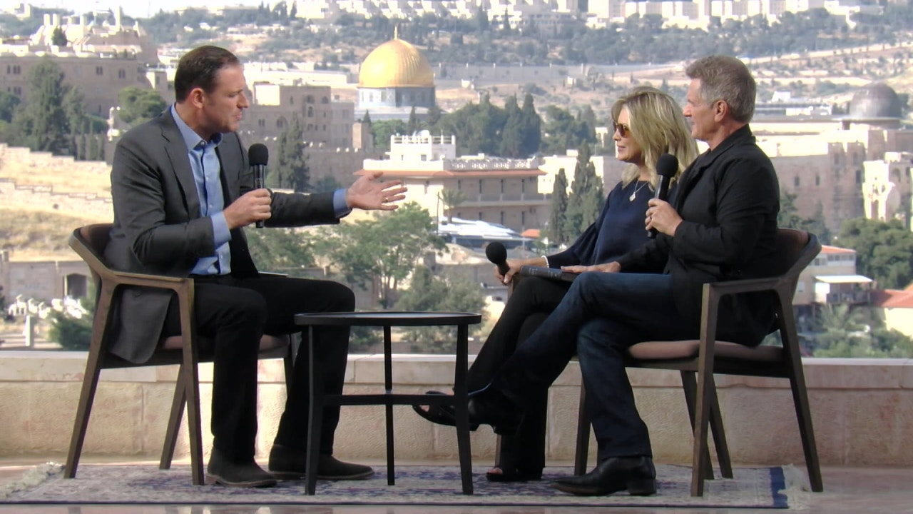 Watch Matt & Laurie Crouch hosts Erick Stakelbeck from Jerusalem, Israel