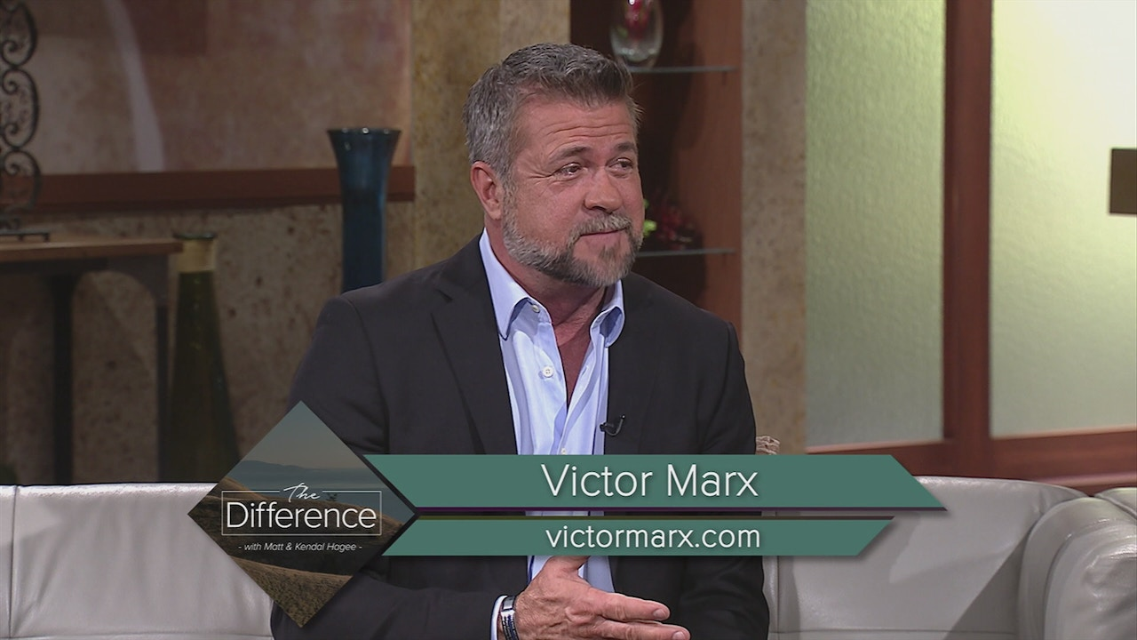 Watch The Difference: Victor Marx | Pain, Purpose, and Freedom