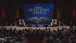 Video Image Thumbnail:Great Questions of the Bible: The Supreme Question